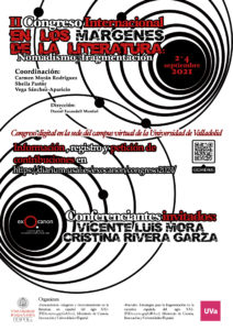 Celebración del II Congreso Internacional En los márgenes de la literatura: Nomadismo y fragmentacion @ Universidad de Valladolid