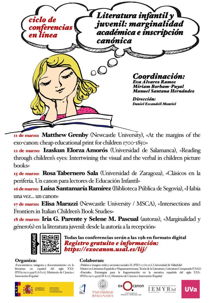 Literatura infantil y juvenil: marginalidad académica e inscripción canónica @ USAL
